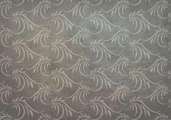 Charcoal Vector Western Flourish Seamless Pattern - vector gratuit #382085