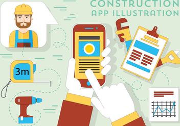 Free Construction Vector Elements - Free vector #382495