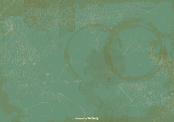 Green Stained Grunge Background - Free vector #383045