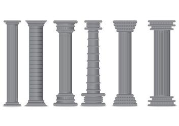 Roman Pillar Vector - Free vector #383475