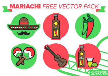 Mariachi Free Vector Pack - Free vector #384015