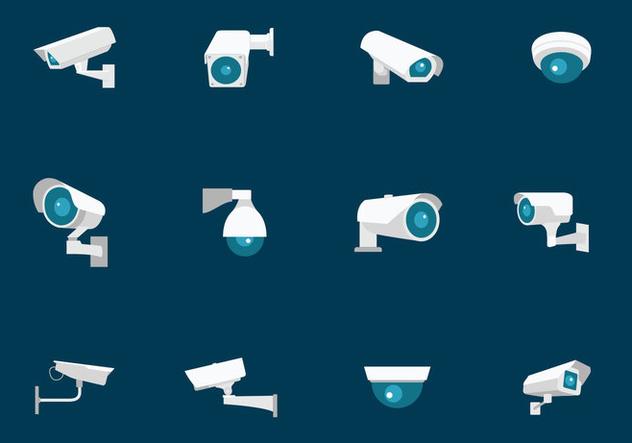 CCTV Security Camera - Free vector #384065