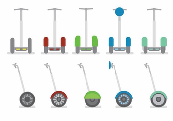 Segway Set - Free vector #384155