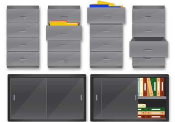 Server File Rack - vector #384165 gratis
