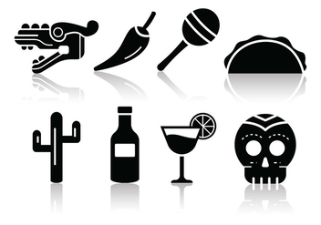 Free Mexico Icons - Free vector #384305