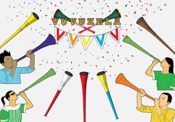 Free Vuvuzela Icons - Free vector #385675