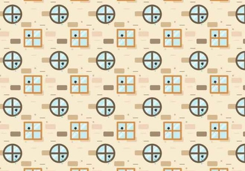 Broken Windows Pattern Vector - vector gratuit #387105