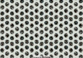 Bubble Wrap Seamless Pattern Vector Background - vector #387295 gratis