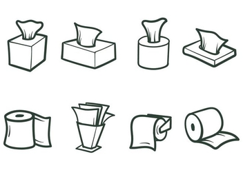 Free Tissue Paper Vectors - Kostenloses vector #387915