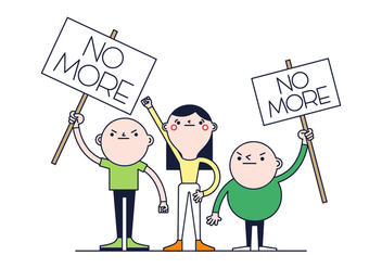 Free Protest Vector - Free vector #388285