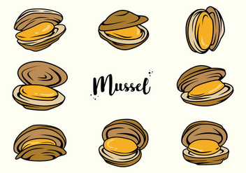 Free Mussel Vector - Free vector #388635