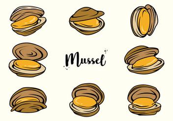 Free Mussel Vector - бесплатный vector #388635