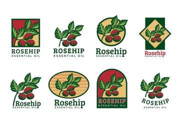 Rosehip Logo Vector - Free vector #388755