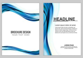 Free Vector Brochure Background - Kostenloses vector #389995