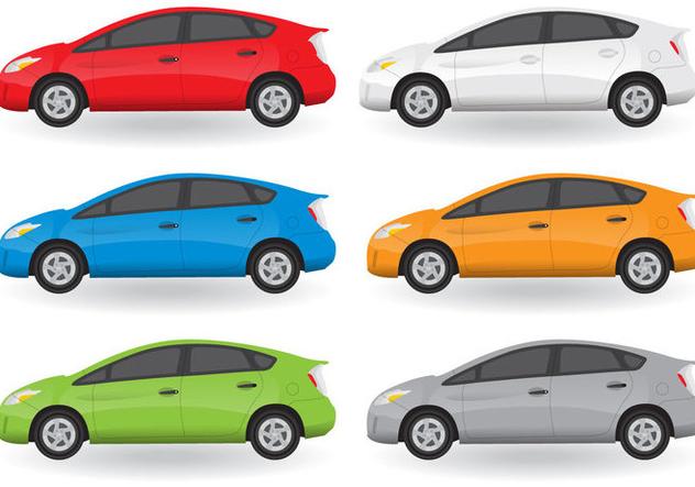 Toyota Prius - бесплатный vector #390055