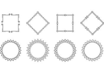 Free Cartouche Frame Vector - Free vector #390565