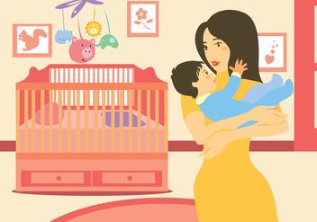 Mommy Vector Art - Free vector #391415