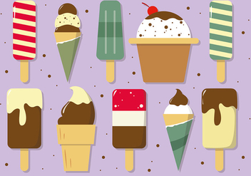 Free Ice Cream Vector - Free vector #391965