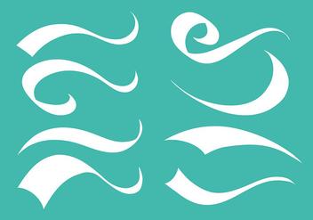 Free Swish Icons Vector - Kostenloses vector #392615