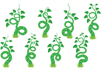 Beanstalk Icons - Free vector #393465
