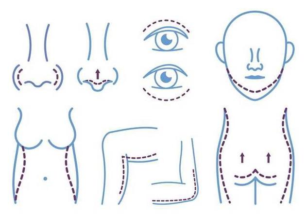 Plastic Surgery Icon - Free vector #394285
