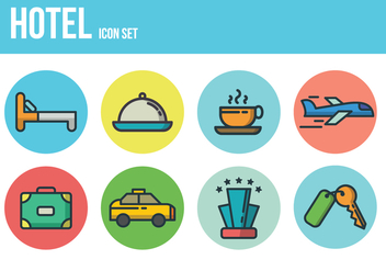 Free Hotel Icons - Free vector #394305