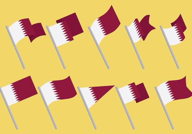 Free Qatar Icons Vector - Free vector #394375