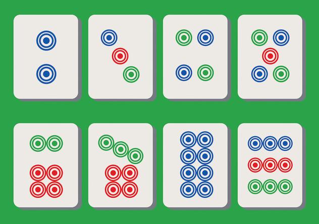 Mahjong Vector - Free vector #394445