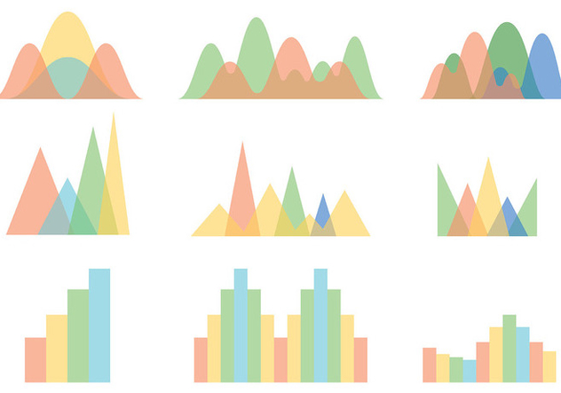 Free Bell Curve Icons Vector - Free vector #394475