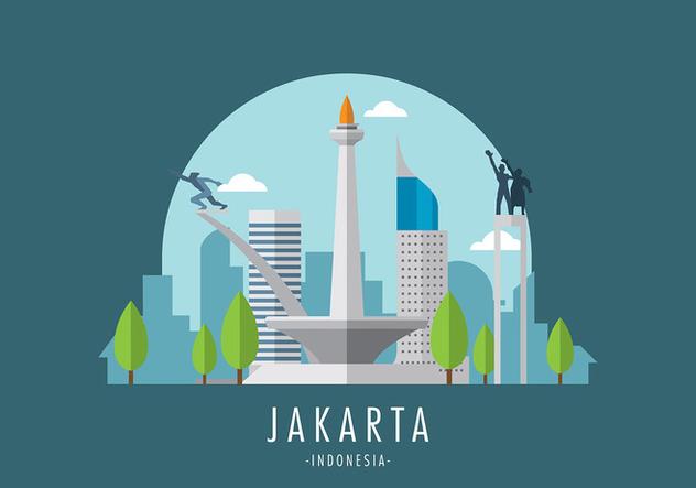 Monas Jakarta Vector - Free vector #394545