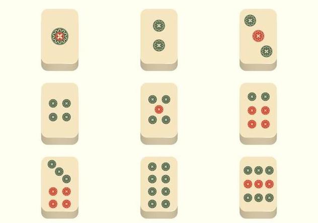 Free Mahjong Vector - Free vector #394575