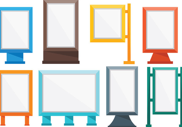 Free Hoarding Icons Vector - Free vector #394645