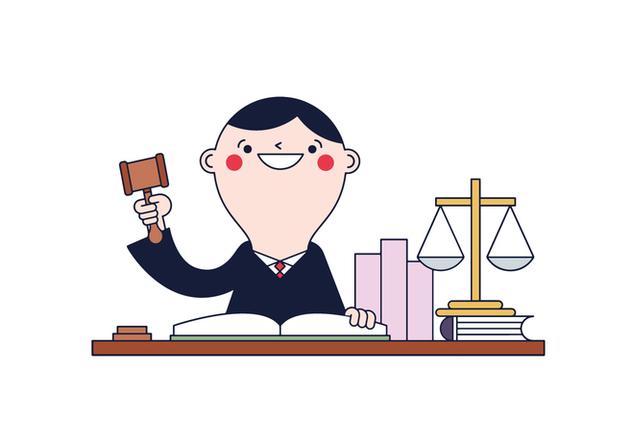 Free Judge Vector - Free vector #394655