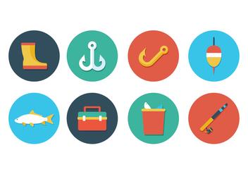 Free Fishing Icon Set - Free vector #395955