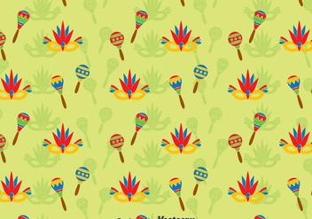 Samba Festival Patern - Free vector #396755