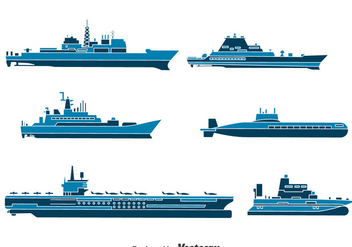 Water Transport Collection Vector - бесплатный vector #396805