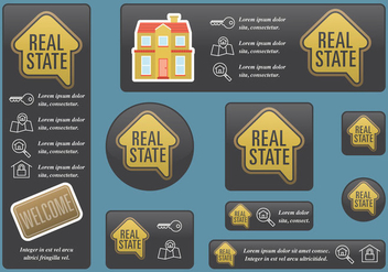 Real State Banners - Free vector #397305