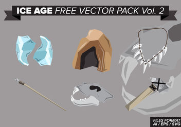 Ice Age Free Vector Pack Vol. 2 - Kostenloses vector #397665