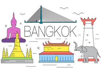 Free Bangkok Illustration - Free vector #397685