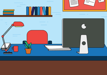 Free Designers Workspace Vector - бесплатный vector #398225