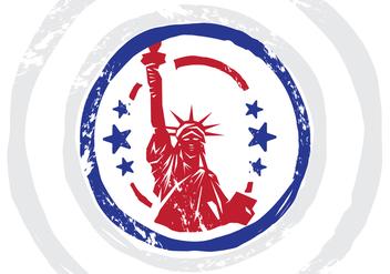 USA Stempel Vector Illustration - Free vector #398355