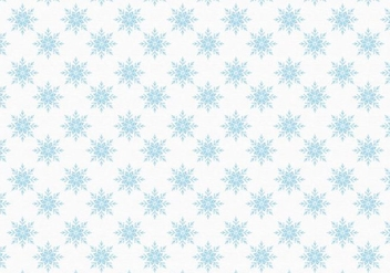 Free Vector Snowflakes Pattern - Free vector #399805