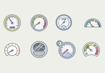 Free Tachometer Vector - Free vector #400245