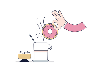 Free Donut Vector - Free vector #400445