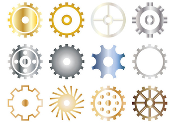 Free Gears Icon Vector - бесплатный vector #400935