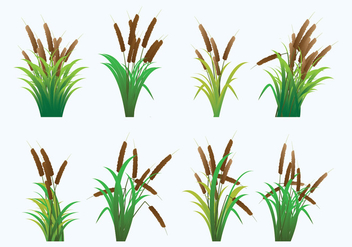 Reeds Icons - Free vector #401185