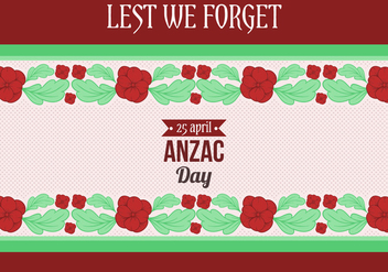 Free Vector Anzac Day - Free vector #401655