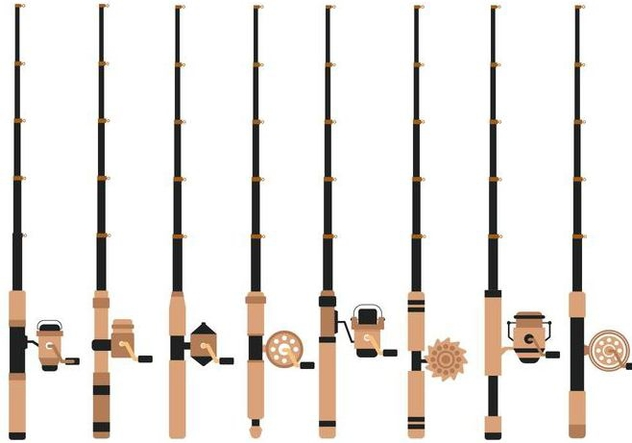Free Fishing Rod Vector - Free vector #401725