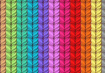 Rainbow Cashmere Free Vector - Free vector #402115