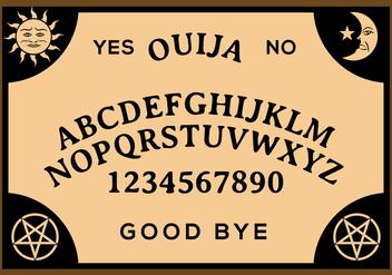 Free Ouija Board Vector - Kostenloses vector #402155